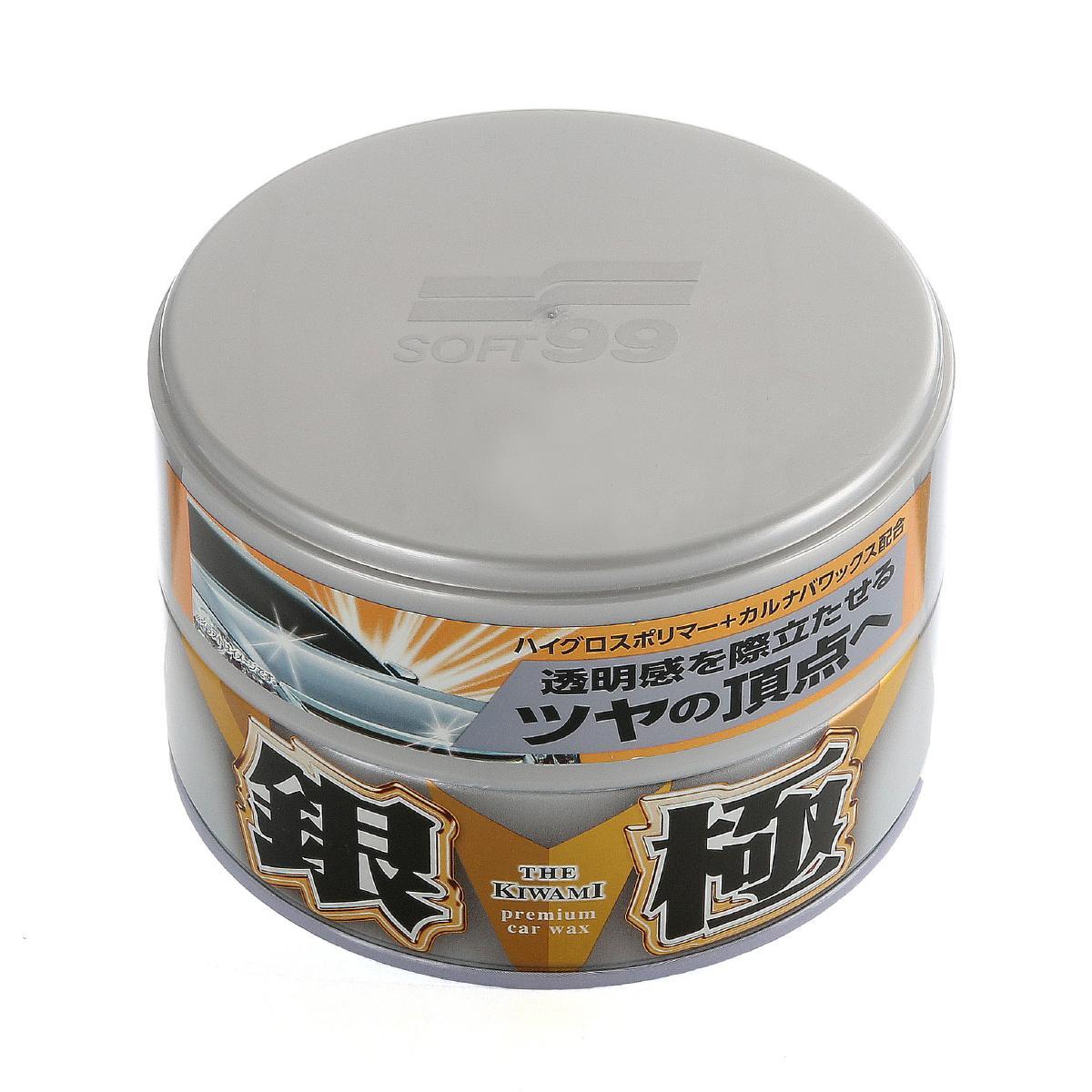Bilvax Soft99 Extreme Gloss Wax The Kiwami Silver, 200 g
