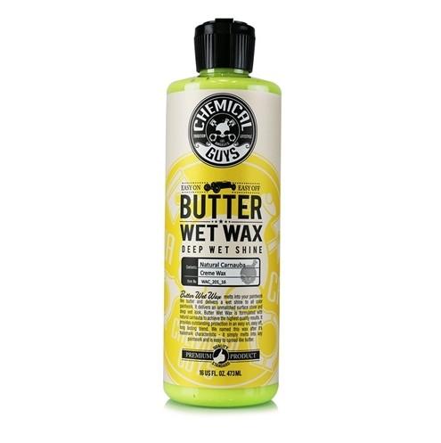 Bilvax Chemical Guys Butter Wet Wax, 473 ml, Vax + Applikator + Polerduk