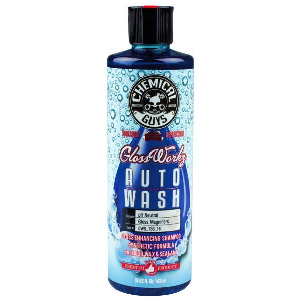 Vaxschampo Chemical Guys GlossWorkz Auto Wash, 473 ml