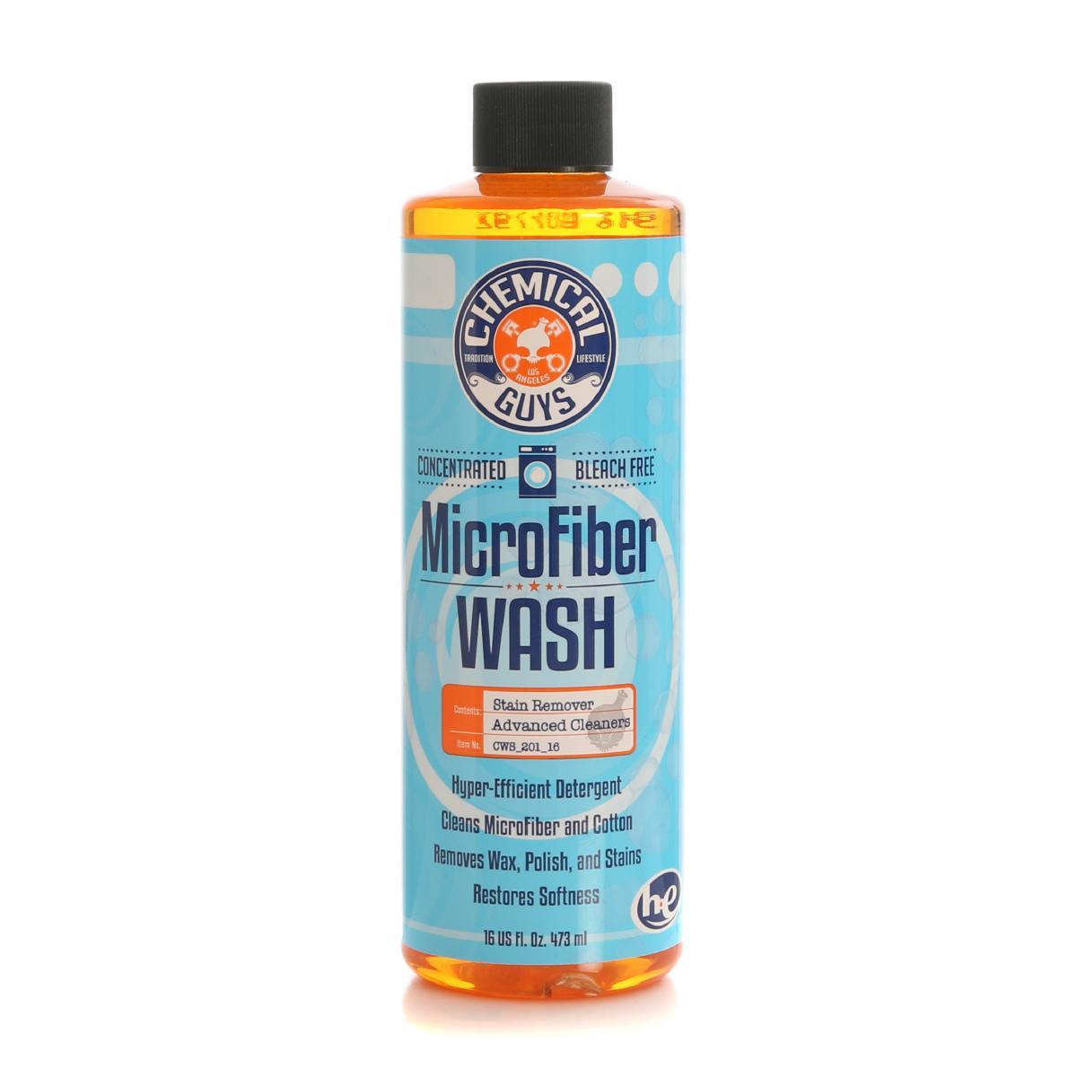 Mikrofiberrengöring Chemical Guys Microfiber Wash, 473 ml