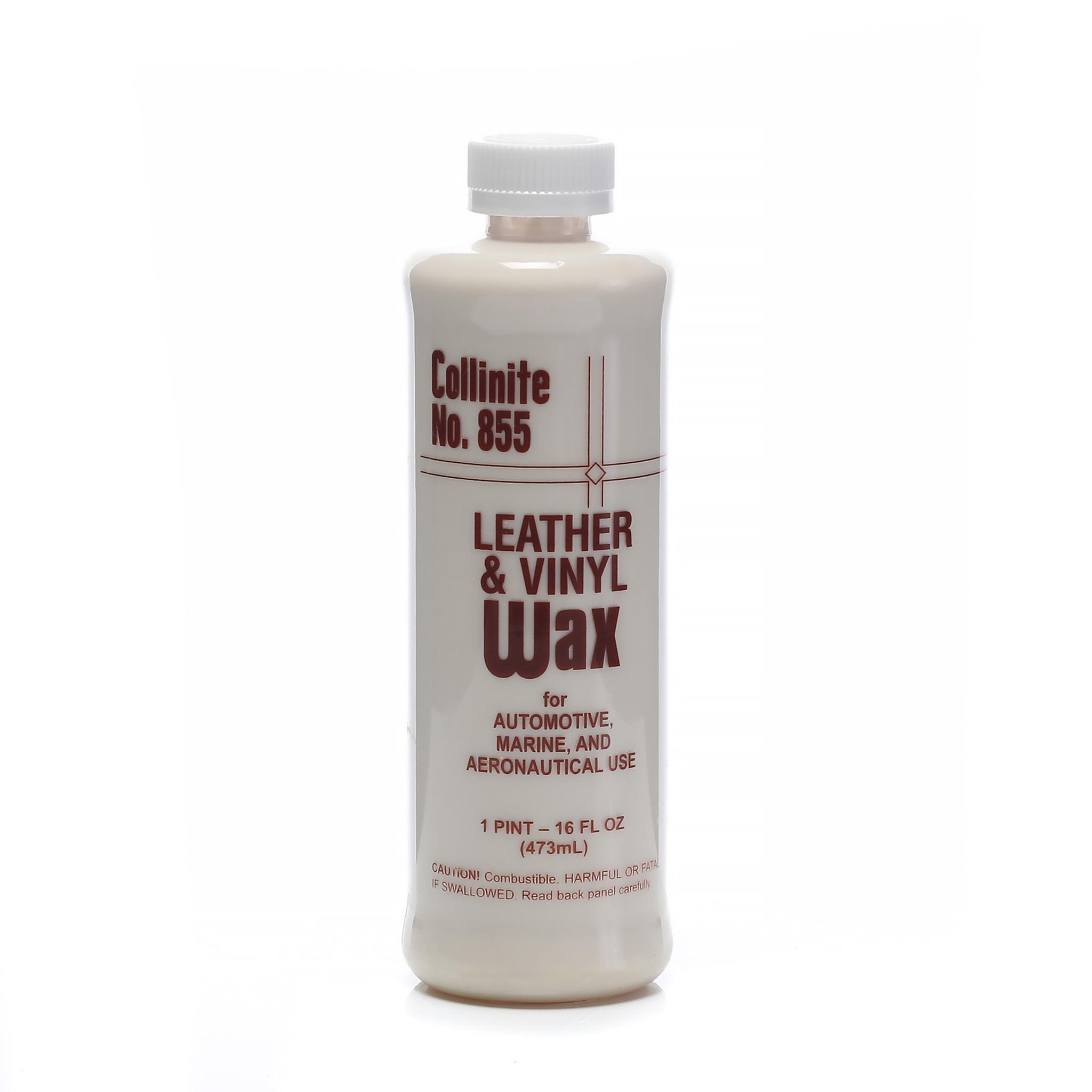 Läderbehandling Collinite 855 Sapphire Leather & Vinyl Treatment Wax, 470 ml