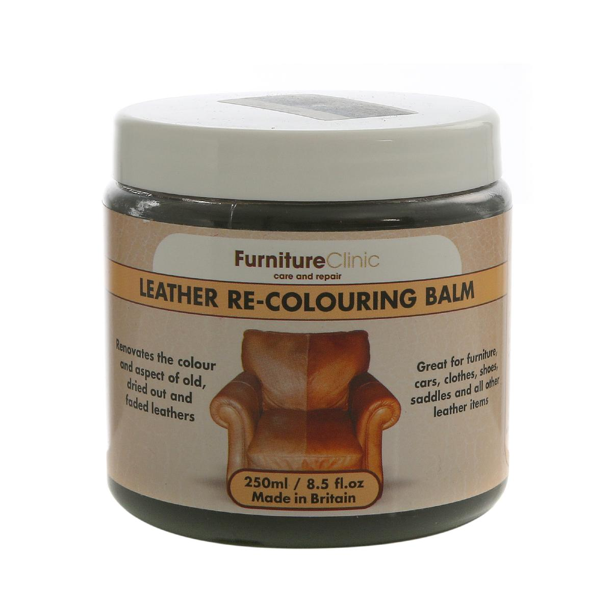 Furniture clinic leather re colouring balm furniture for Furniture clinic