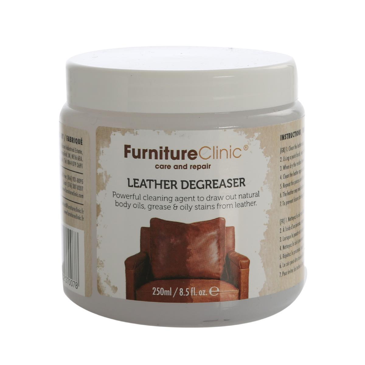 Fettborttagning Furniture Clinic Leather Degreaser, 250 ml