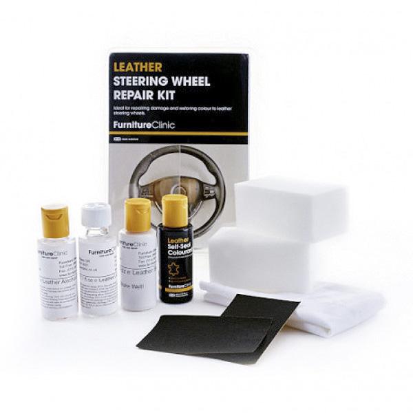 Läderratt Reparationskit Furniture Clinic Leather Steering Wheel Repair Kit