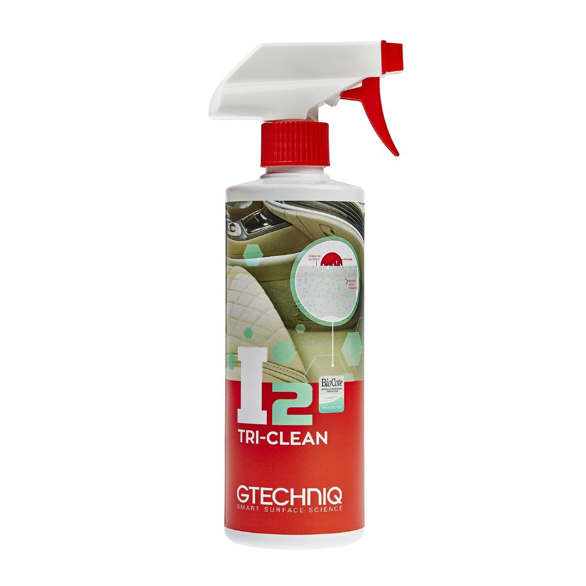Interiörrengöring Gtechniq I2 Tri-Clean, 500 ml