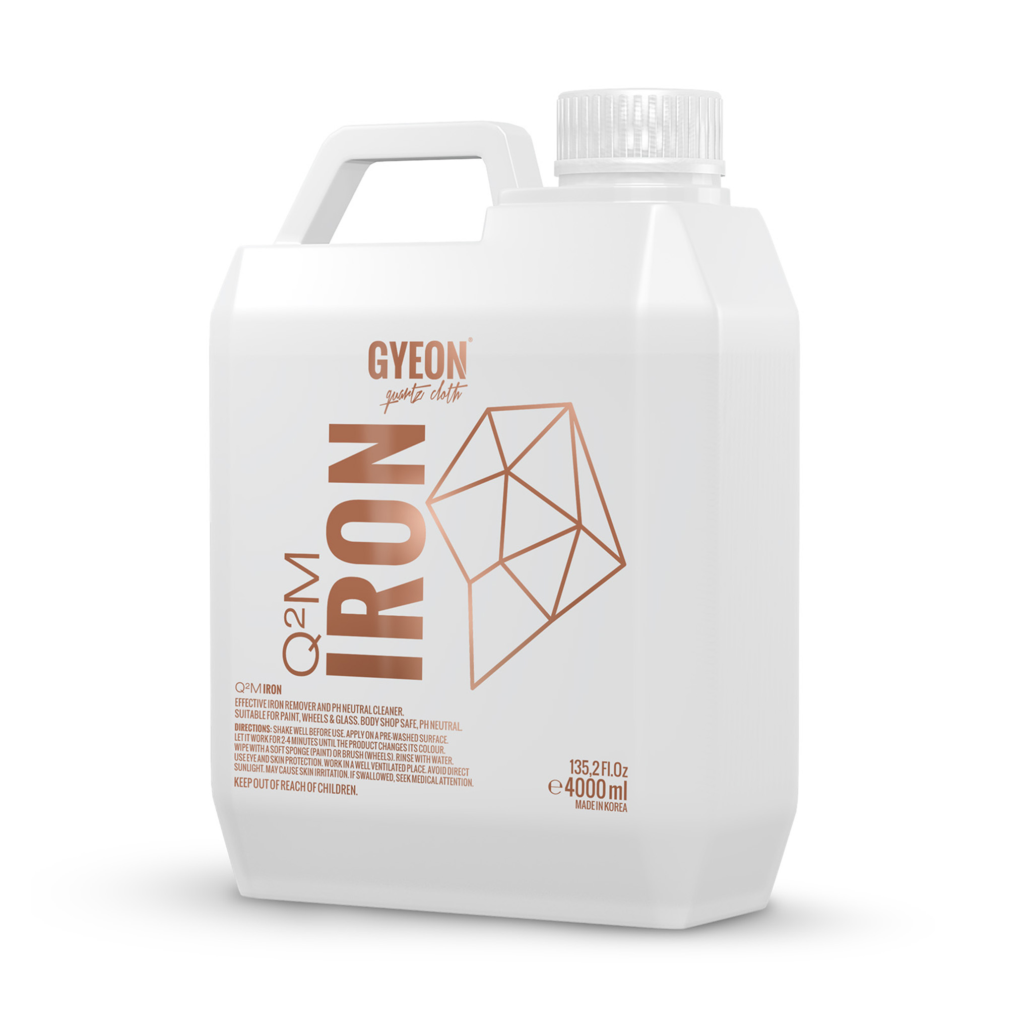 Flygrostlösare Gyeon Q²M Iron, 4000 ml