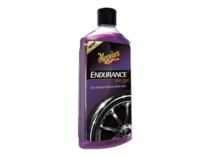 Däckglans Meguiars Endurance High Gloss Tire Gel, 473 ml, Flaska + Mikrofiberdukar