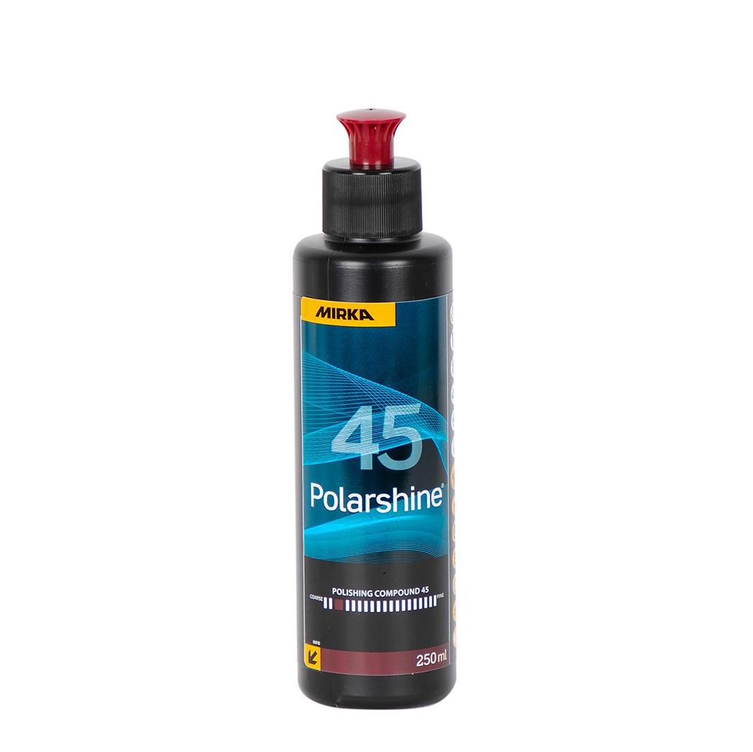 Polermedel Polarshine 45, Grovrubbing, 250 ml