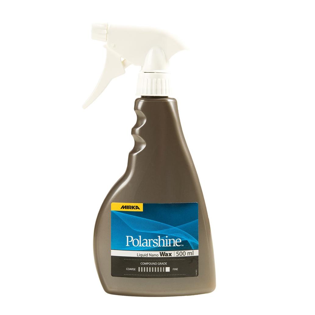 Snabbvax Mirka Polarshine Liquid Nano Wax, 500 ml