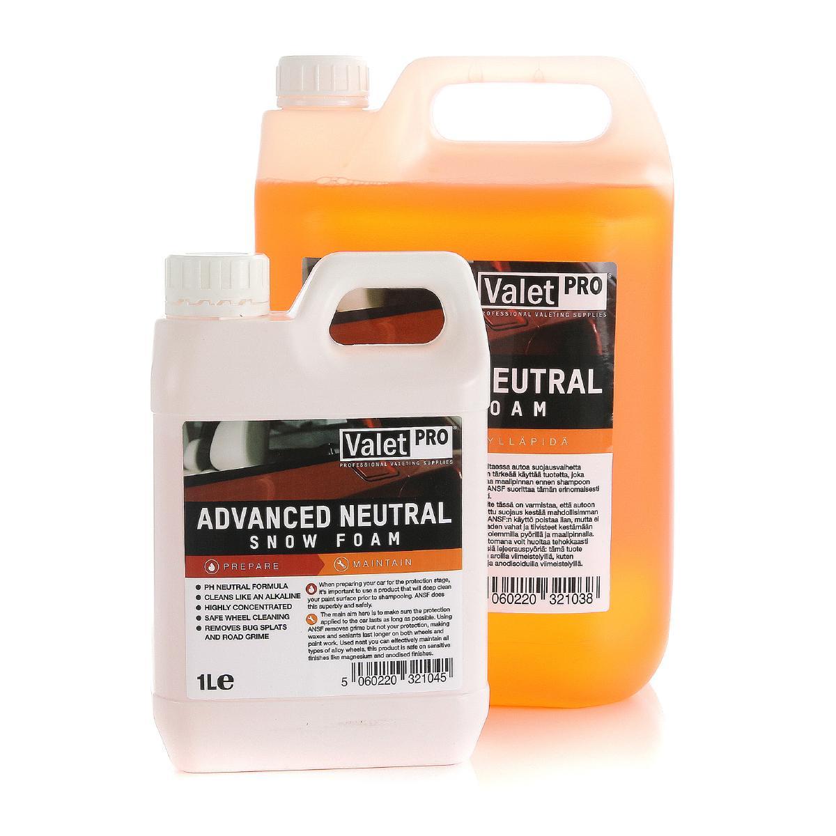 Förtvättsmedel ValetPRO Advanced Neutral Snow Foam, 1000 ml