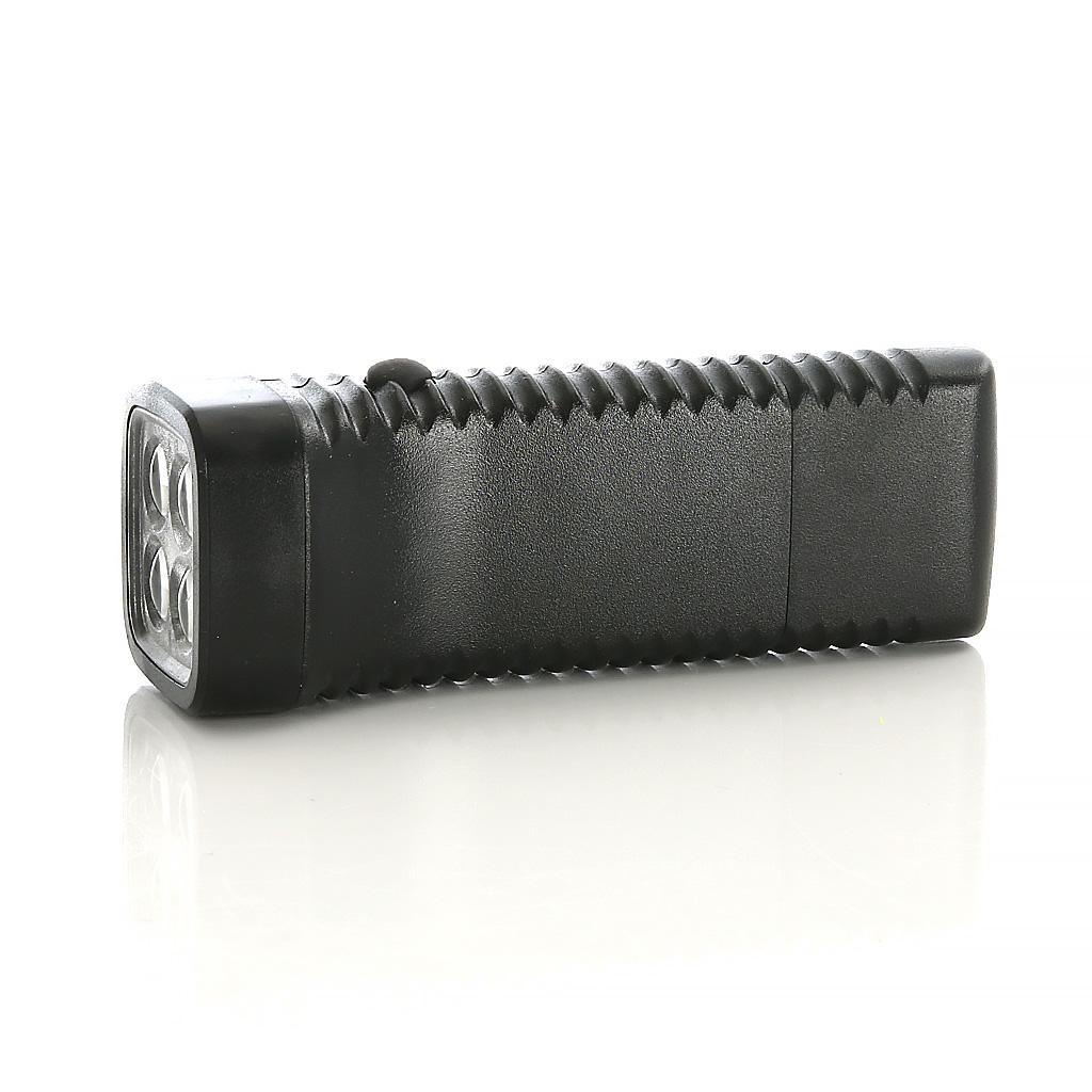 Lommelykt Acculux Multi LED, oppladbar 230V