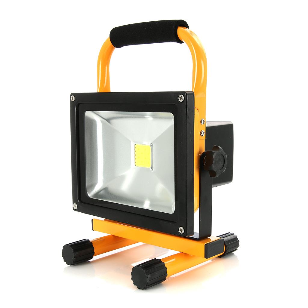 Oppladbar LED-arbeidslampe, Acculux FL 20W, 1500 lm