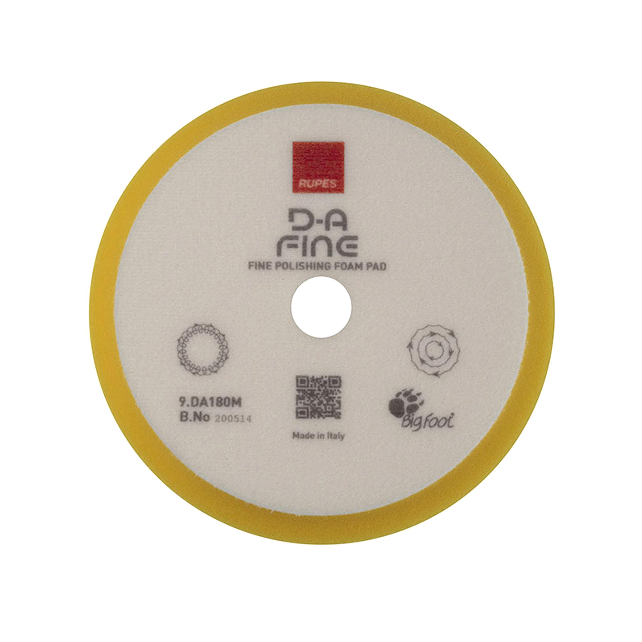 Skumrondell Rupes, D-A Fine, Gul, 1st - 150/180 mm