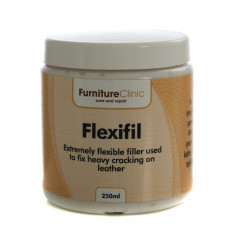 Läderfyllnadsmedel Furniture Clinic Flexifil, 250 ml