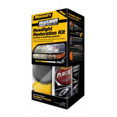 Poleringskit frontlykter Meguiars HD Headlight Restoration Kit