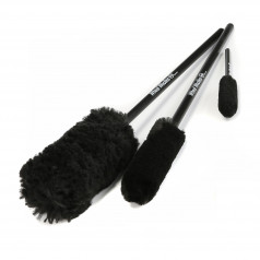 Vanneharjasetti Wheel Woolies 3 Piece Wheel Brush Kit