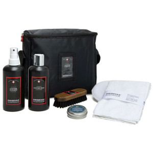 Skinnpleiesett Swissvax Leather Care Kit