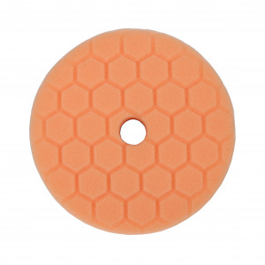 Poleringspute Padboys Hex, Orange (Soft Cut) 5,5