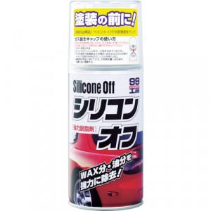 Dyprengjøring Soft99 Silicone Off, 300 ml