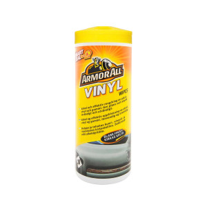 Våtservetter Plast Armor All Vinyl Wipes Blank Finish, 36 st