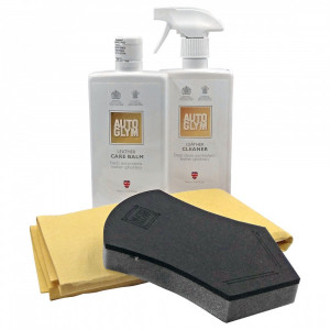 Läderbehandlingspaket Autoglym Leather Clean & Protect Complete Kit