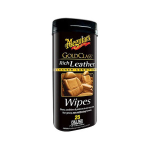 Våtservetter Läder Meguiars Gold Class Rich Leather Wipes
