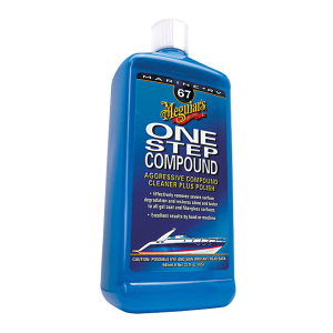 Båtpolermedel Meguiars Marine One Step Compound, 1000 ml