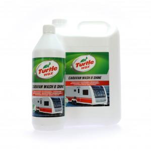 Husvagnsschampo Turtle Wax Caravan Wash & Shine