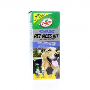 Rengöringskit Husdjur Turtle Wax Power Out Pet Mess Kit