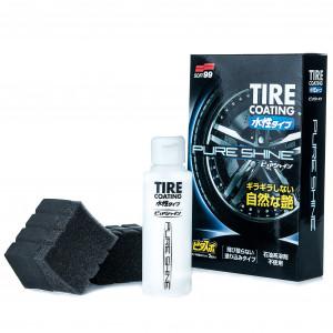 Dekkforsegling Soft99 Pure Shine Tire Coating, 100 ml