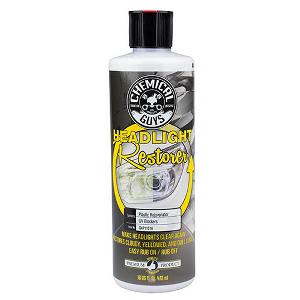 Ajovalojen kiillotusaine Chemical Guys Headlight Restorer and Protectant, 473 ml