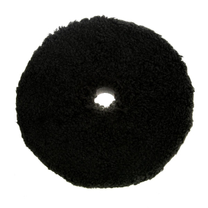 Mikrofiberrondell Chemical Guys Polishing Pad, Svart