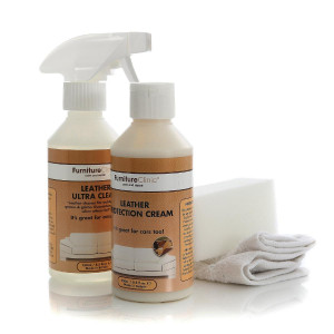 Lærbehandling Furniture Clinic Leather Car Interior Care Kit