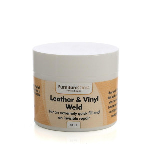 Fyllnadsmedel Furniture Clinic Leather & Vinyl Weld, 50 ml