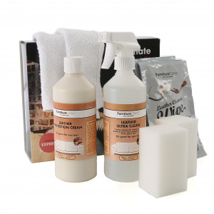 Läderbehandlingspaket Furniture Clinic Ultimate Leather Care Kit