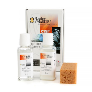 Nahanhoitosetti Leather Master Protection & Cleaner Kit Midi