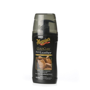 Skinnbehandling Meguiars Gold Class Rich Leather, 400 ml