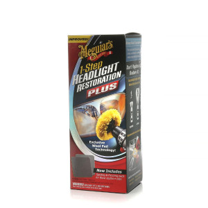 Poleringskit lykteglass Meguiars 1-Step Headlight Restoration Kit