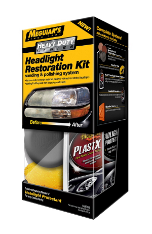 Ajovalojen kiillotussarja Meguiars HD Headlight Restoration Kit