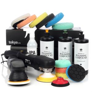 Poleringspaket Tokya All In One MEGA - Roterande + Oscillerande