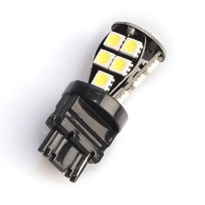 LED-polttimo Purelux T25-lasikanta (P27W) 18 LED, 324 lm (2 kpl)