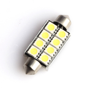 Spolepære 8 LED (42 mm), 320 lm