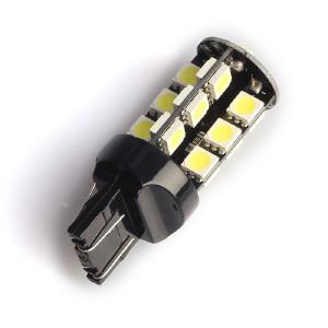 LED-polttimo Purelux T20-lasikanta (W21/5W) 27 LED, 486 lm (2 kpl)