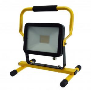 LED-arbetsbelysning 230V, 30W, med ställning
