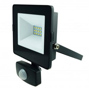 LED-arbetsbelysning 230V, 10W, med rörelsesensor