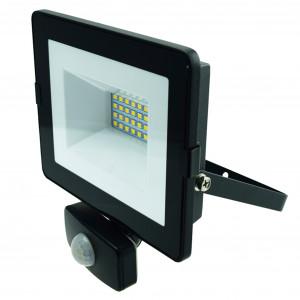 LED-arbetsbelysning 230V, 20W, med rörelsesensor