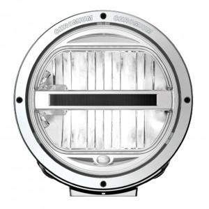 Lisävalo Hella Luminator LED, Kromi - Pyöreä / 23 cm