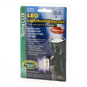 LED-uppgrad. 4-6 C&D Maglite, 140 lm