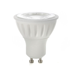 GU10 LED-lampa, Naturlight, 6W, Neutralvit, Smal