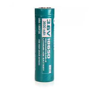 18650 Li-ion akku Olight, 3600 mAh